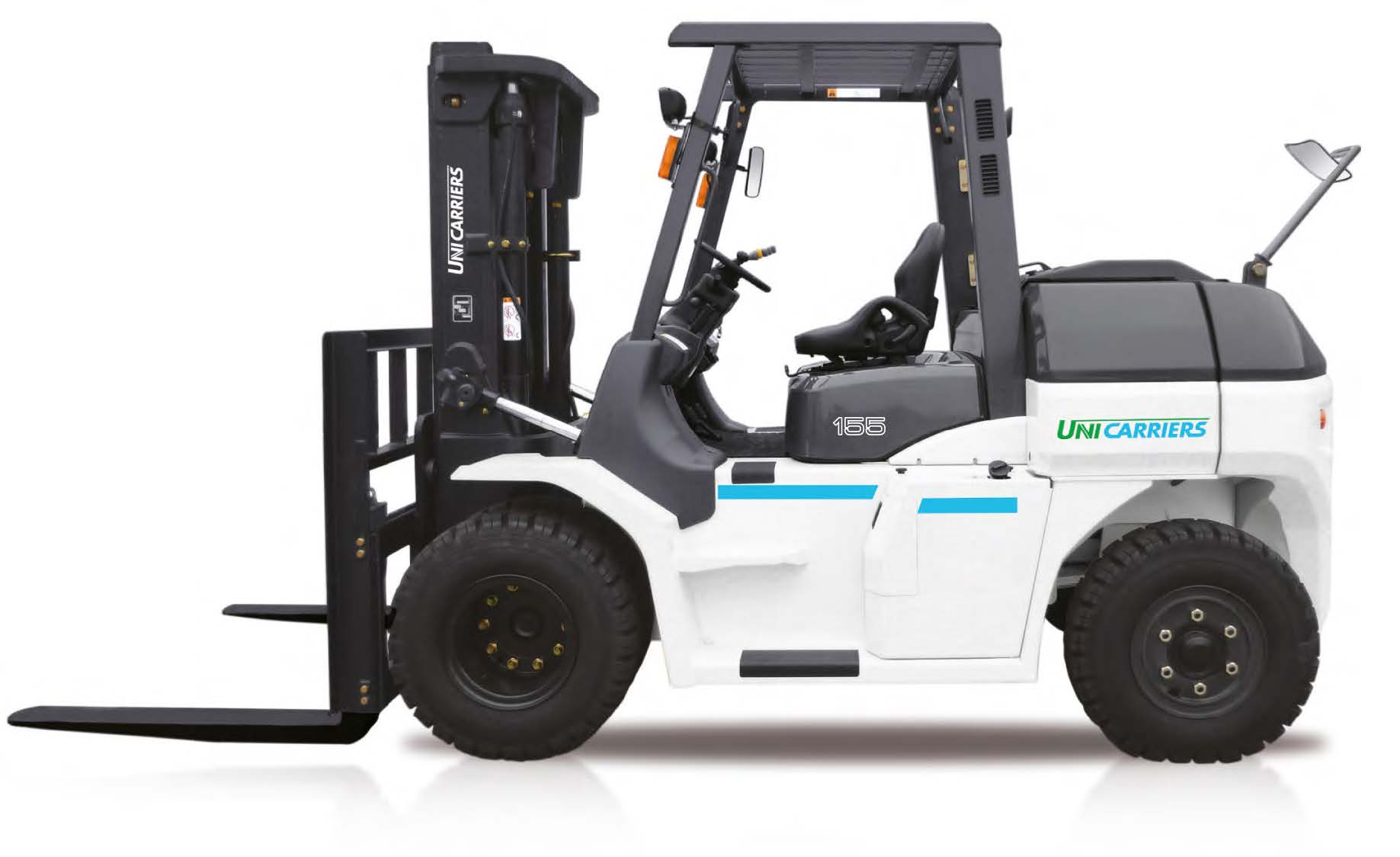 high capacity forklift, heavy duty forklift, large forklift