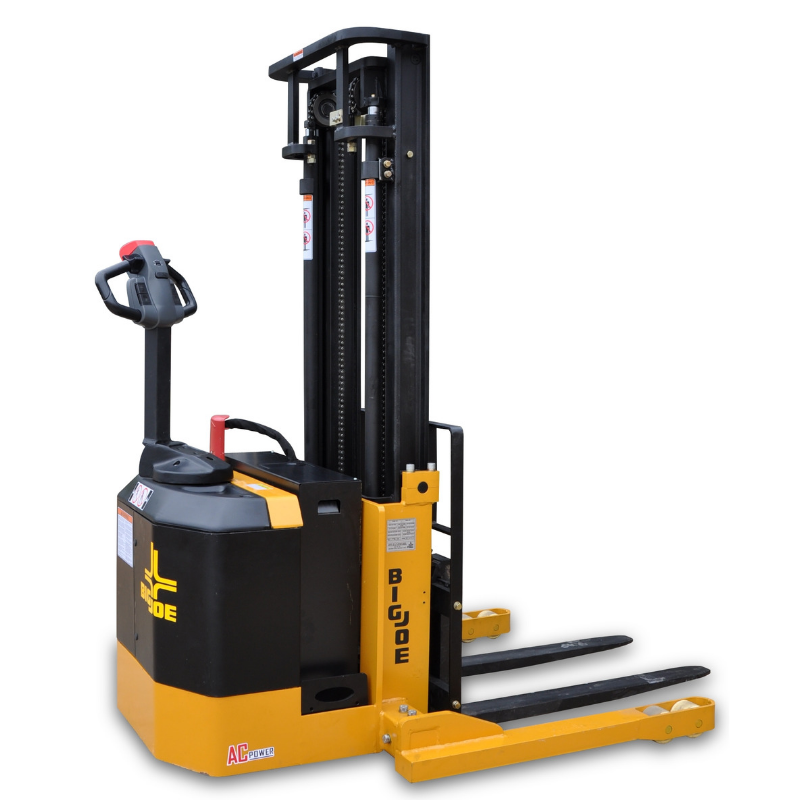 Straddle Stacker, Walkie Stacker