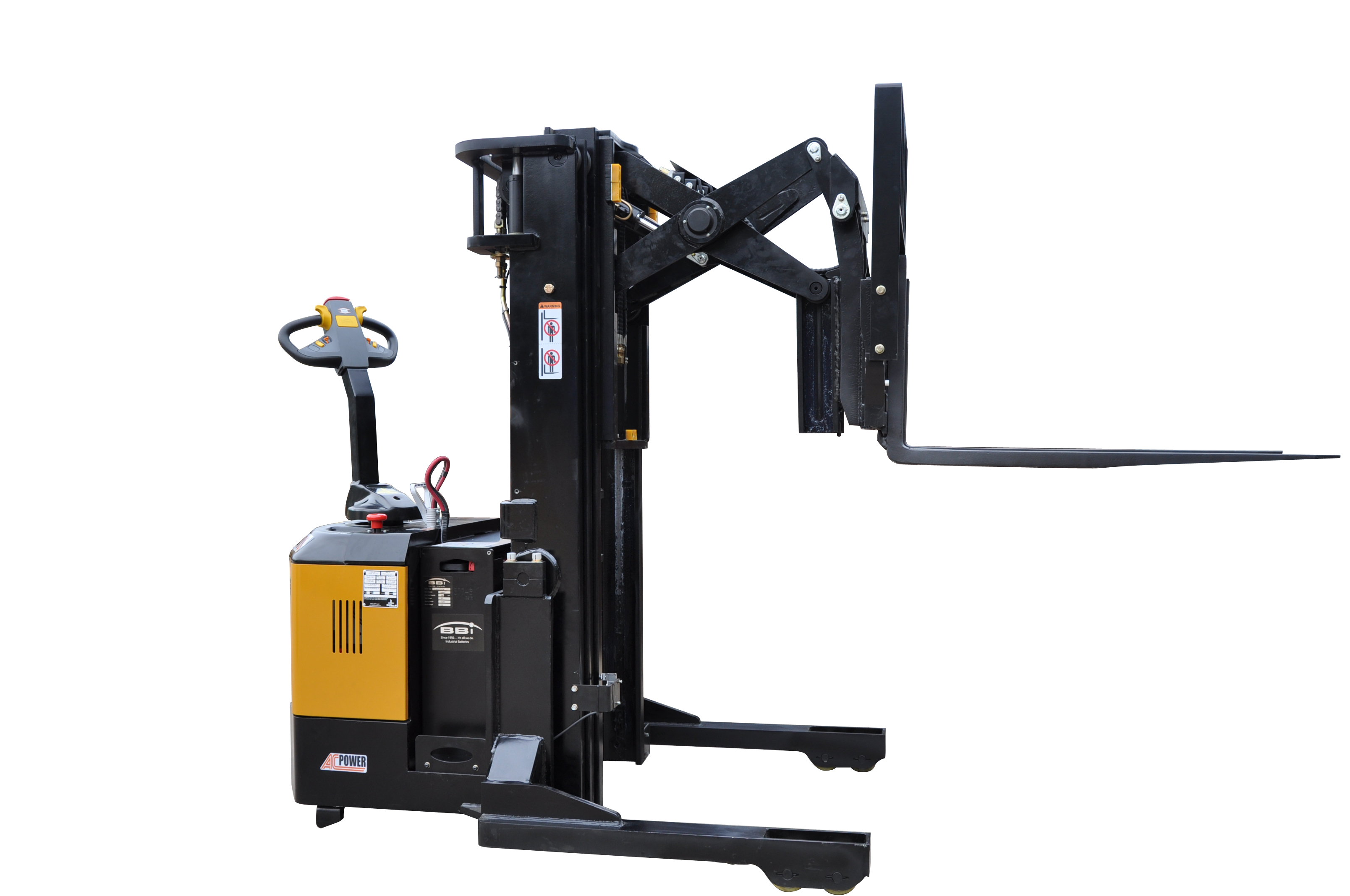 Walkie Reach Stacker, Reach Stacker