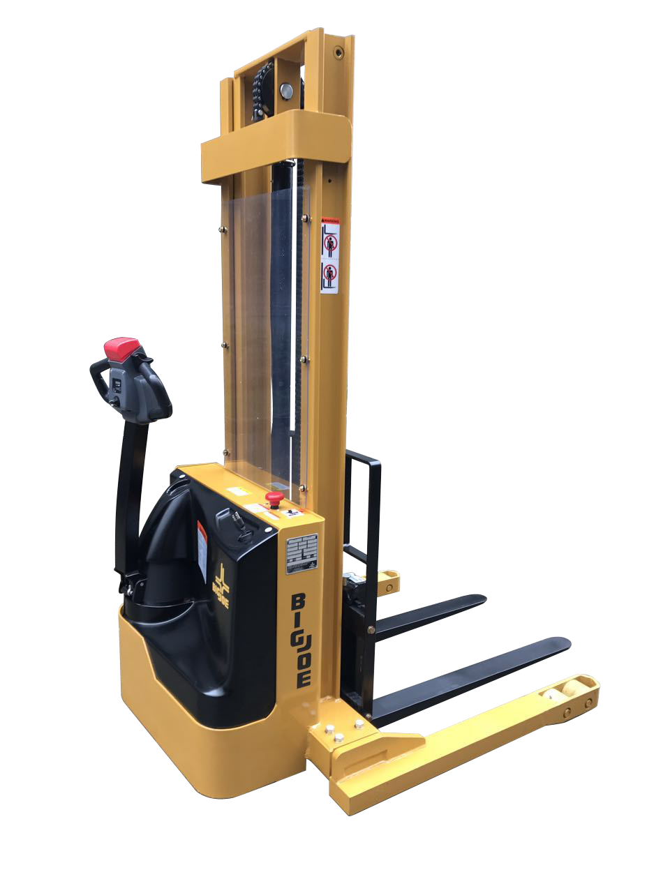 Walkie Stacker, Straddle Stacker